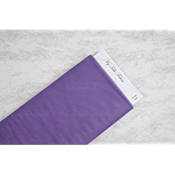 "Matte Tulle On Bolt Of 54"" X 25 Yd 100% Nylon Our Tulle is Flame Retardant and Metal Free (Violet)"