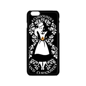 alice in wonderland curiouser and curiouser Phone Case for iPhone 6 Case