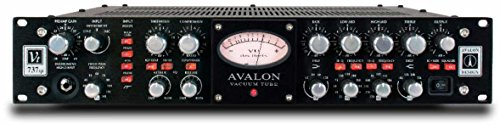 Avalon Design VT-737sp Channel Strip, Tube Microphone / Instrument Preamplifier Black with 1 Year Free Extended Warranty (Avalon Channel Strip)