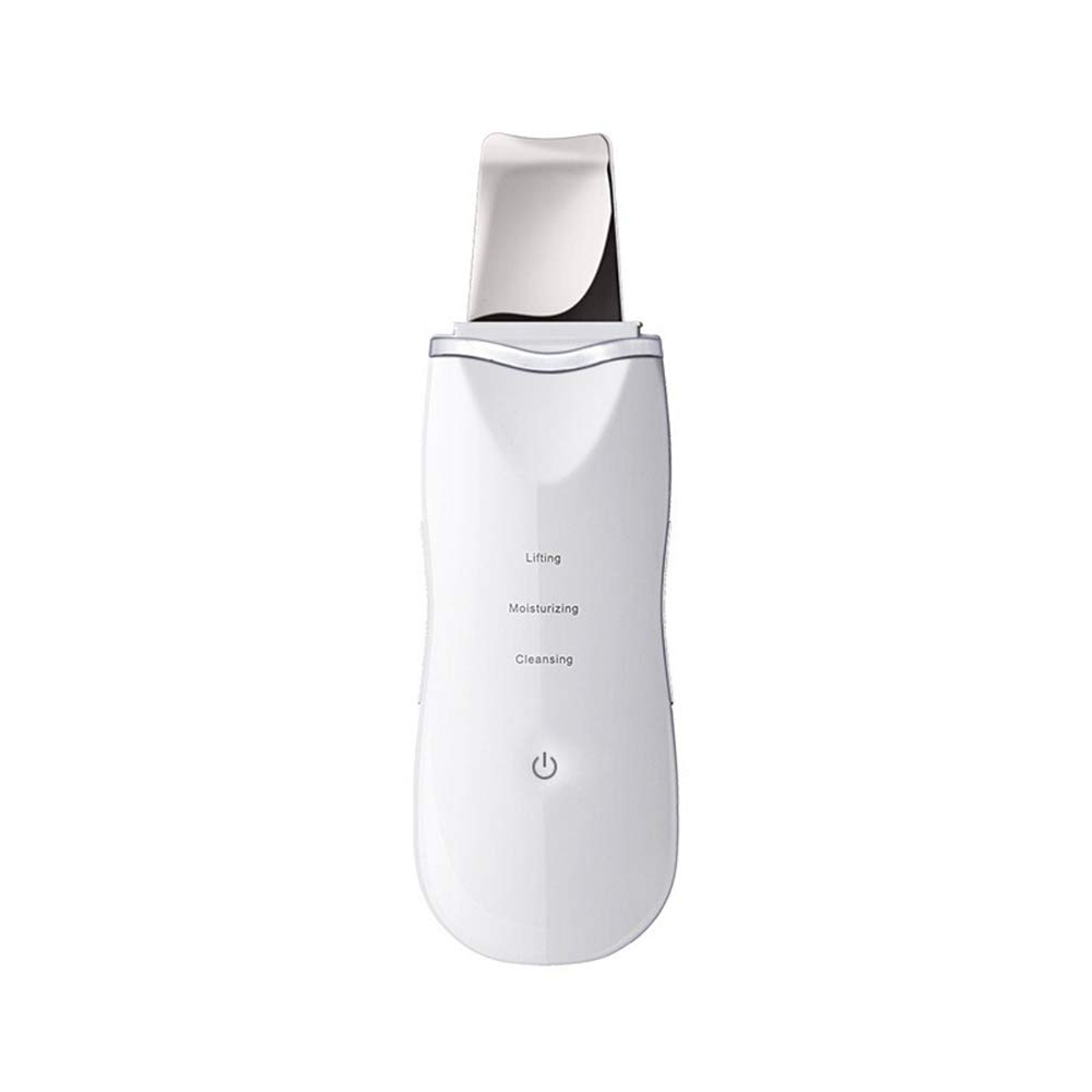 超音波ショベル皮膚器具ホームポータブル電子振動イオン老化角質筋肉底スクラバー削除しわマシンクリーンフェイシャル美しさ   B07Q34QS78