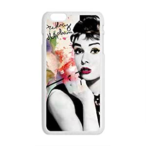 LINGH Audrey Hepburn Brand New And Custom Hard Case Cover Protector For Iphone 6 Plus