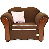 KEET Homey VIP Organic Kids Chair, Sweet/Brown