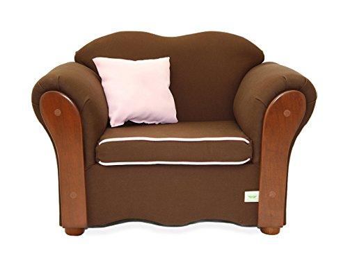 KEET Homey VIP Organic Kid's Chair, Sweet/Brown by Keet