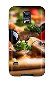 Amanda W. Malone's Shop Hot 9296915K57513072 New Design Shatterproof Case For Galaxy S5 (pizza With Olives)