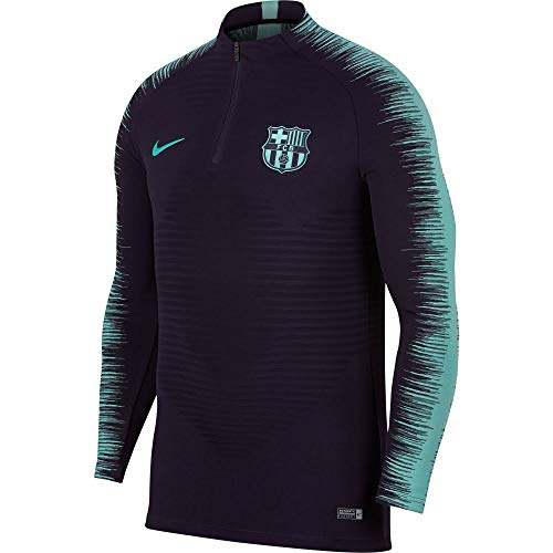 Vaporknit Turquoise Longues Purple Drill Strike Homme Nike shirt Dynasty Manches T À hyper Pour Fc Barcelona ZqE44WwnaS
