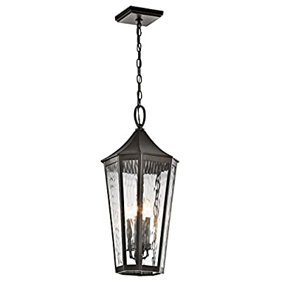 Four Light Olde Bronze Hanging Lantern 49517OZ