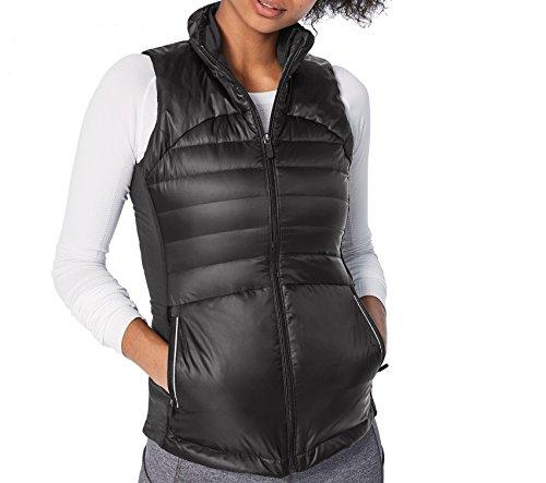 (Lululemon Down for a Run Vest 800 Fill Goose Down Puffer Black (4, Black))