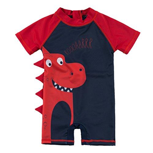 SANSI swim shirts red 2019