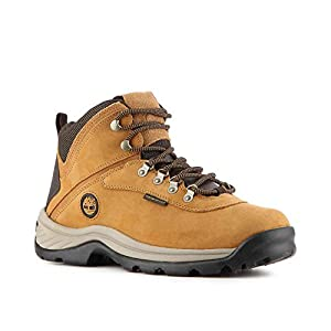 Timberland Men's White Ledge Mid Waterproof Boots, Wheat, 11W