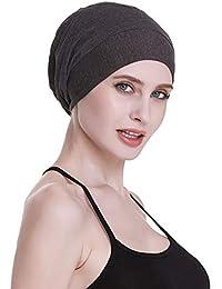 b35aa532d2784 Satin Lined Sleep Slouchy Cap Curly Girl Slap Headwear Gifts for Frizzy  Hair Women