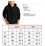 Youth Boys Girls Hooded Sweater with Pocket Classic