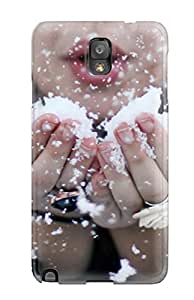 Brooke Galit Grutman's Shop Top Quality Case Cover For Galaxy Note 3 Case With Nice Blowing Snow Appearance