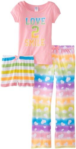 Sleep & Co Girls 7-16 Smile 3 Piece Set