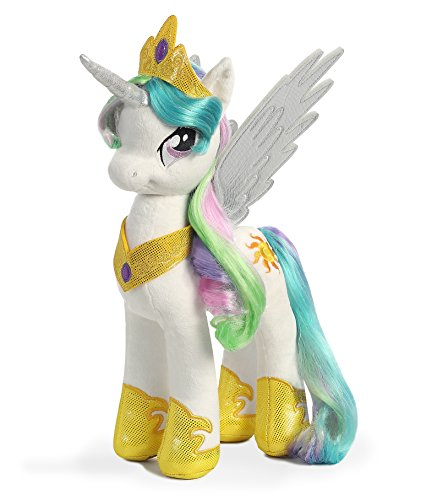 Aurora World My Little Pony Princess Celestia Plush (My Little Pony Bear compare prices)