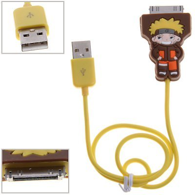 Connector Power Cable iPhone NARUTO