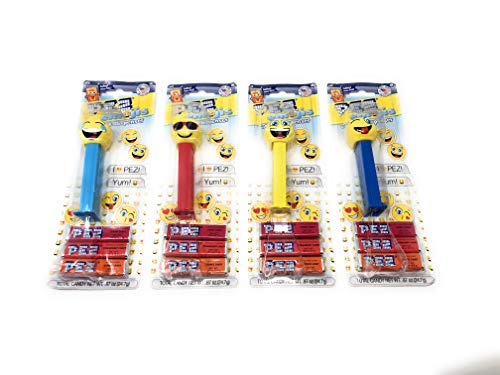 Pez 4-pack - Four of the most popular pez full pack with candy ready to go