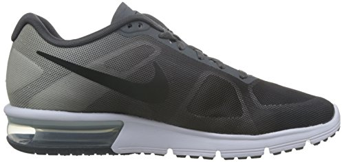 NIKE Men's Air Max Sequent Running Shoe Dark Grey/Platinum/Black Size 13 M US for sale online store ssfIzPy
