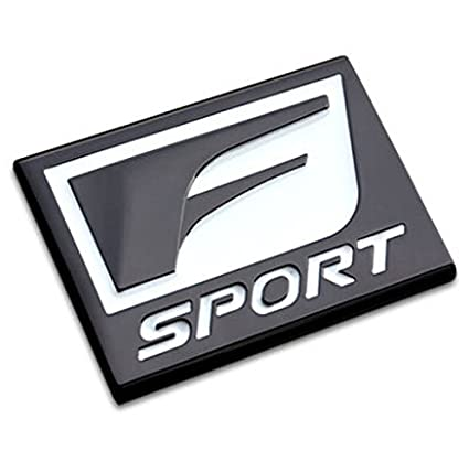 Amazon Com Salusy F Sport Car Decorative Emblem Badge For Lexus