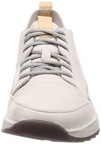Clarks Ginnastica Da Basse Leather Tri Scarpe white Uomo Spark Bianco 1wrt1Inq