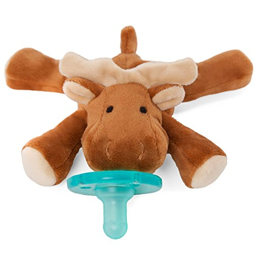 Wubbanub Infant Pacifier - Moose