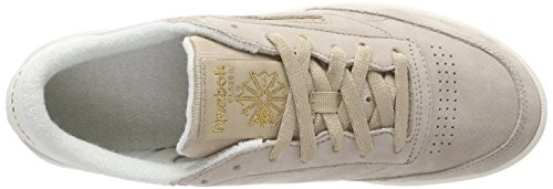 Reebok Dame Klub C 85 Vintage Sneaker Beige (kork / Kridt / Reebok Messing) BU77rwTc