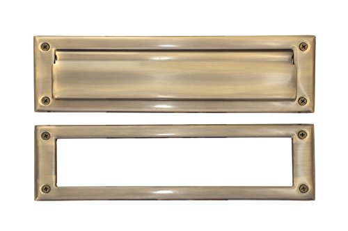 BRASS Accents A07-M0070-609 Mail Slot, 3