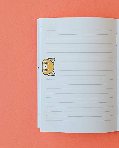 Aggretsuko Reversible Journal