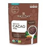 Navitas Organics Cacao Nibs, 8 oz. Bag - Organic, Non-GMO, Fair Trade, Gluten-Free
