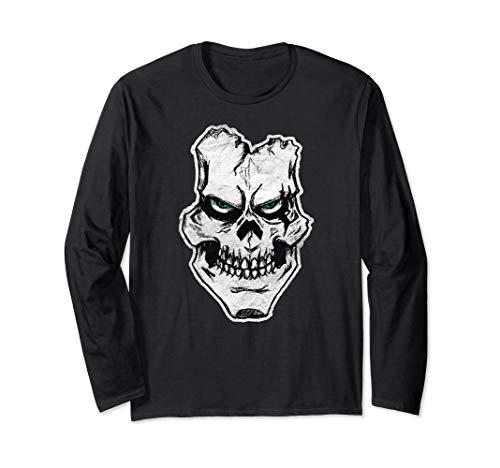 Creepy Ghoul Vintage Long Sleeve Shirt