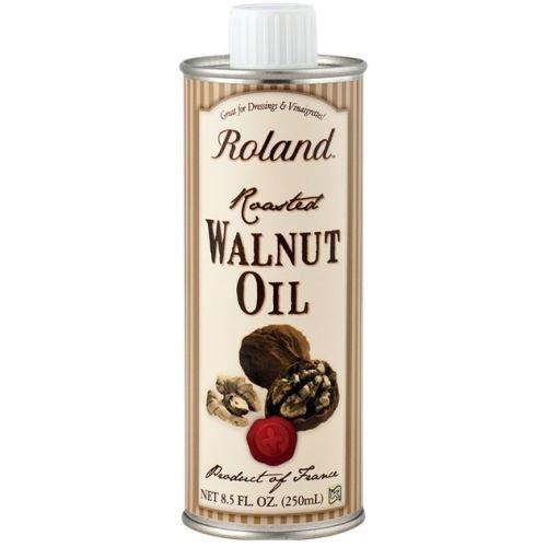 Roland Roasted Walnut Oil, 8.5 Fluid Ounce - 6 per case. - Roasted Walnut Oil
