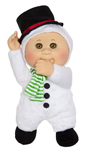 Cabbage Patch Kids 9 Inch Collectible Holiday Helpers Softbody Cuties Doll, Rudy Snowman Baby Cabbage Patch