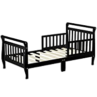 Dream On Me Classic Sleigh Toddler Bed - Black
