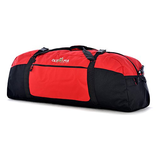 Extra Large Sport Bag - Olympia Luggage  42 Inch Sports Duffel,Red,One Size