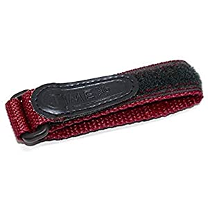 TIMEX 12-16MM Maroon Womens Fast WRAP Replacement Watch Band Strap