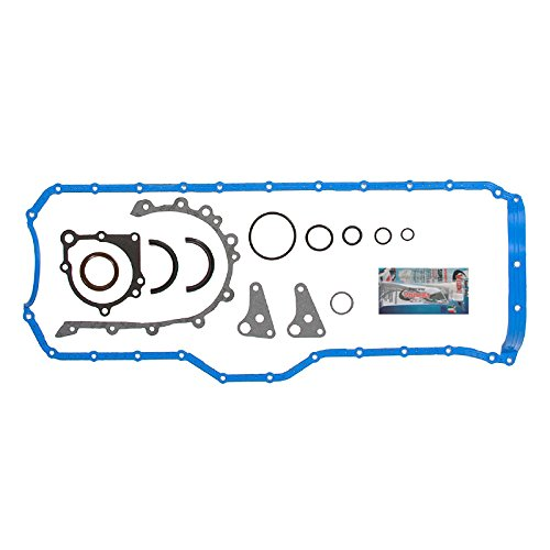 2001-2006 Jeep Wrangler X, Sport, Sahara, Rubicon, Cherokee, Grand Cherokee 4.0L I6 VIN Code S, V Lower Conversion Gasket Set Detoti Auto Parts