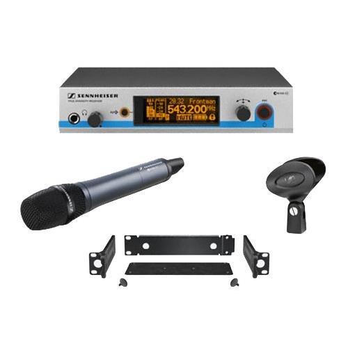 Sennheiser EW 500-945 G3 - Wireless Vocal System with Dynamic Supercardioid Handheld Mic - G-Range (566-608 MHz) ()