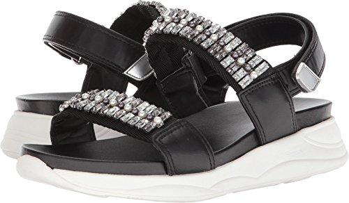 ALDO Women's Eloima Flat Sandal, Black Miscellaneous, 7 B US
