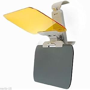 adjustable car anti glare sun visor extension clip shield flip for driving electronics. Black Bedroom Furniture Sets. Home Design Ideas