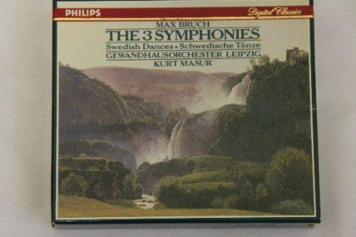 Bruch: The 3 Symphonies, Swedish Dances