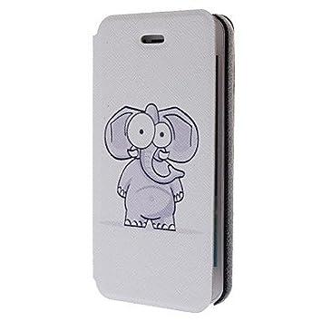 Qjyb modello cartone animato elefante pu caso del corpo intero con