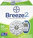 blood sugar monitor breeze - BREEZE-2 TEST STRIPS MCR/MCD 50 Count
