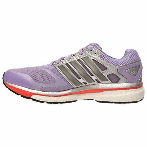 Adidas Supernova Glide 6 Boost Running Sneaker Shoe - Dames Lavendel / Grijs