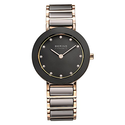 BERING Time 11429-746 Womens Ceramic Collection Watch wit...