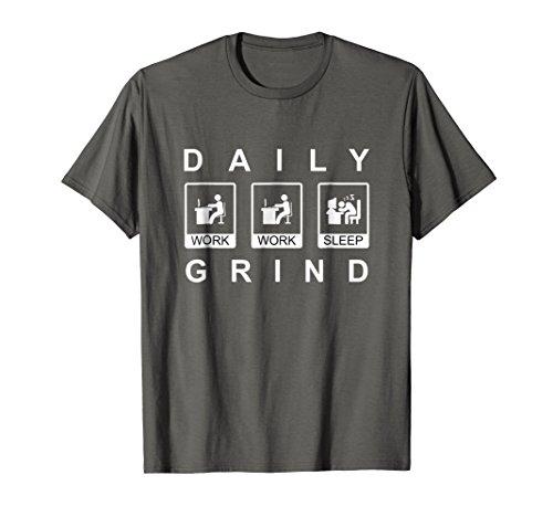 Nerds Tee T-shirts - Mens Geek Nerd Computer Programmer Techie T-Shirt. 2XL Asphalt