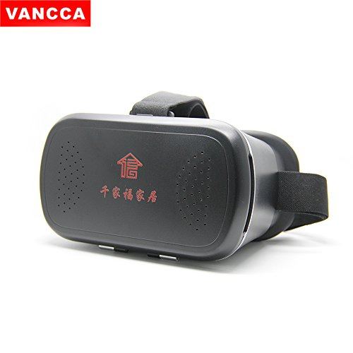 V300 Type (VR Headset Goggles Glasses VANCCA V300 Virtual Reality Helmet Immersive 3D BOX for iOS iPhone 7/6/6s Plus 5/SE Android Samsung all 4.7-6.0 inch Smart Phones)