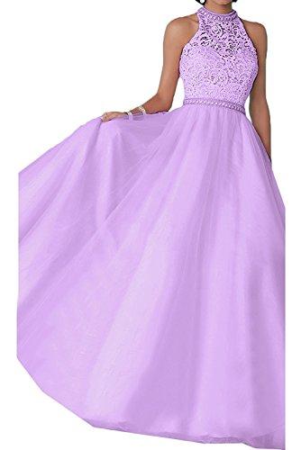 Abendkleider Abiballkleider Lang Hell Gelb Braut Flieder Abschlussballkleider La Marie Spitze Prinzess Damen Tuell nPfx8Uvx