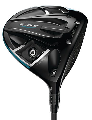 Callaway Golf 2018 Men's Rogue Draw Driver, Left Hand, Synergy, 50G Shaft, Stiff Flex, 10.5 (10.5 Stiff Driver)