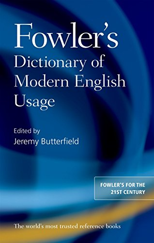 10 best fowlers dictionary of modern english