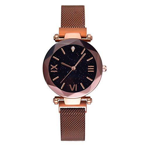 RMM Luxury Women's Starry Sky Watch Magnetic Buckle Bracelet Dress Watches