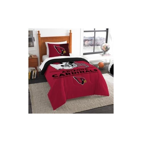 The Northwest Company NFL Arizona Cardinals Twin Comforter and Sham, One Size, Multicolor Arizona Cardinals Twin Comforter